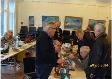 12b, Medlemsmøde i Ølgod – en dag hvor ModelDampKlubben medlemmer mødes til en god snak om de ting der arbejdes med! Foto Ks, medlemsmøde i Ølgod den 29. oktober 2014