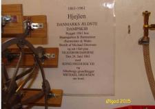 1a, +1b, Måske er det året Dampmaskine – Hans Jørgen Petersen's model af Dampmaskineriet til D/S Hjejlen, som hver sommer sejler i fast rutefart mellem Himmelbjerget og Silkeborg – i skala 1:8 – modelbyggeriet har stået på i en 4-5år! Foto; Ks – i Ølgod den 28. november 2016