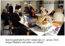 2a, MDK mødet i København den 27. januar – var velbesøgt – en del nye modelbyggerier blev forevist! Foto; Jesper Hansen, København