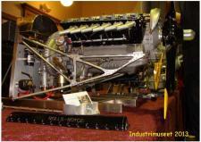 "2b, Dette vidunderlige stykke ""Finmekanik"" af en Rolls Royce Merling motor i skala 1.4 er bygget af modelbygmesteren Gunnar Sørensen, Horsens! Ks - ModelDampKlubben på Industrimuseet i Horsens den 13. oktober 2013!"