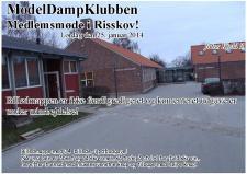 2e, Traditionen tro har ModelDampKlubben afholdt årets første medlemsmøde i det jyske på Biblioteket i Risskov – Aarhus!
