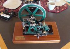 3l, En oscillerende Dampmaskine bygget af Henning Laursen i Stoholm. Ks i Stoholm 2012
