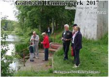8b, ModelDampKlubben var inviteret til at udstille på Godthaab hammerværk Grundlovdag. Foto Ks 5. juni 2017