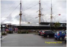 """9a 13. august var MDK medlemmer inviteret til at udstille i Æbeltoft til """"FREGATDAMP"""""""