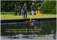 9d, Også Dampbådene var der tænk på den 5. juni til  »Fars Dag« på det Tekniske Museum! Foto; Jesper Hansen den 5. juli – Danmarks Tekniske Museum i Helsingør.